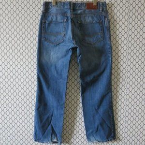 Hugo Boss Orange Button Fly Straight Leg Jeans 33